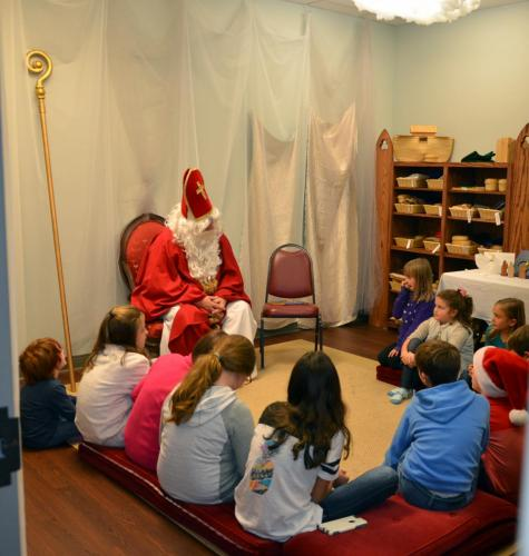 Saint Nicholas visits Resurrection 3